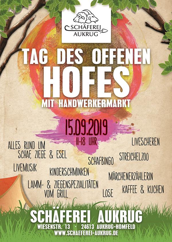 Hoffest Schäferei Aukrug 15.09.2019